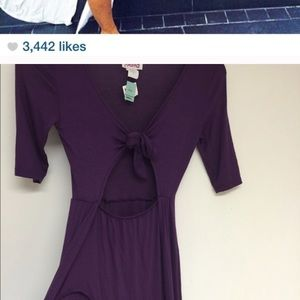 Dresses & Skirts - purple slit tunic